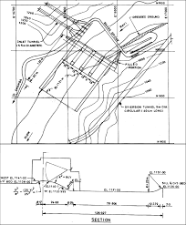Overflow Spillway Design Example Plan And Section Of The Spillway Modified Design