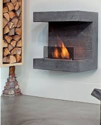 Bioethanol hanging #fireplace SALERNO by BRITISH FIRES