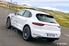 2018 porsche macan facelift. Contemporary 2018 Front Is Supposed To Look M Ore Like A 911 Than Any Other Non Model   Two Door Variant Being Discussed Possible Platform Sharing With Q2 Intended 2018 Porsche Macan Facelift