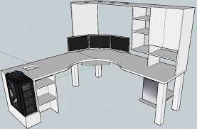l shaped desk plans.  Plans The Most Ikea L Shaped Desk Plan Room Design Ideasroom Ideas Tips And Plans L