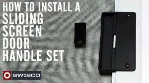 Andersen Patio Screen Door Handles   Exterior Doors and Screen Doors