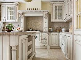 Antique white country kitchen Living Room Antique White Country Kitchen Home Design Antiqued Kitchen Cabinets Pictures And Photos Renderonesiacom Antique White Country Kitchen Home Design Popular Kitchen Cabinet Colors