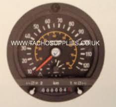 ldv tachographs vdo tachograph ldv optional 1318 vdo analogue tachograph head black bezel