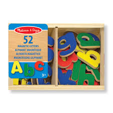 melissa doug magnetic wooden letters zoom
