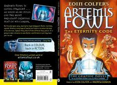 front and back covers for the puffin uk edition of the third artemis fowl graphic novel