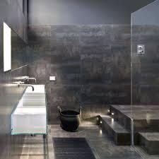 metal floor tiles. Delighful Metal Floor Tiles Methome Metal Optic Lappato Black 60x60cm On I