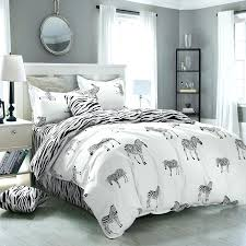 twin size duvet cover king twin size zebra print bedding bed sheet polyester zebra print duvet twin size duvet cover