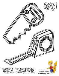 Small Picture Construction Tools Coloring Pages Coloring Coloring Pages