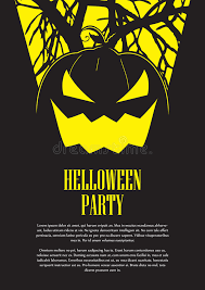 halloween sale flyer halloween party flyer stock vector illustration of fall 58949724