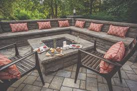 outdoor fire pit outdoor seating