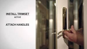 lock mechanism replacement on andersen frenchwood hinged inswing patio doors