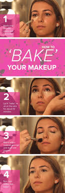 make your face glow and ensure your look lasts all day with this trendy technique called baking by letting your makeup set and finishing with a