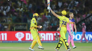 #rr lose two wickets in quick succession. M25 Rr Vs Csk Match Highlights