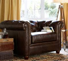 leather chesterfield chair. Chesterfield Leather Armchair Chair E