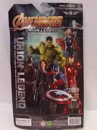 avengers hulkbuster iron man bootleg figure 2019 toy fair on card ebay
