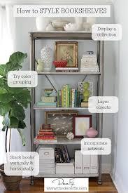 office bookshelf design. how to style a bookshelf office design k
