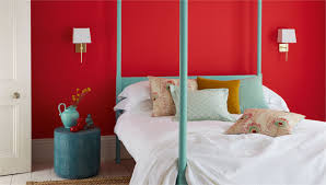 Red Wallpaper For Bedroom Sanderson Designer Fabric And Wallpaper From Traditional To