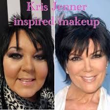 kris jenner inspired makeup tutorial