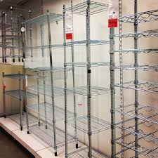 brilliant ikea wire shelving 5 source for apartment therapy joan crawford may have famously d hanger