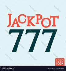 777 Logo Design Jackpot 777 Icon