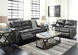 ashley reclining sofa with console massage canada ashley reclining sofa signature design by acieona with drop down table in slate