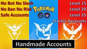 Pokemon Go Account Level 20 with 1 Random Legendary Pokemon - Trust Poke  Services