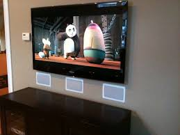 samsung tv speakers. photo of innovative solutions home theater - methuen, ma, united states. slim led samsung tv speakers