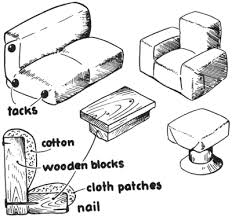 make your own doll furniture. Dollhouse Furniture With Wooden Blocks Make Your Own Doll