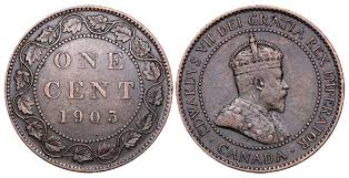 Coins And Canada 1 Cent 1903 Canadian Coins Price Guide