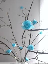 Paper Flower Branches