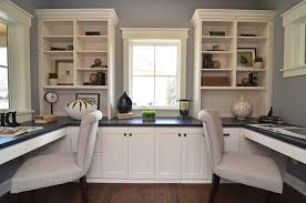 dual desk home office. Dual Desks Home Office Traditional With Built In Desk Regarding Popular Household Designs R