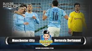 Highlights Manchester City vs Borussia Dortmund UEFA Champions League Final  Stage 1/4 2020/21 - Buaksib