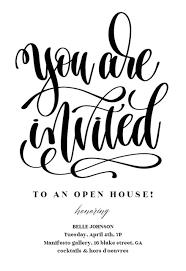 Open House Invitation Templates Free Greetings Island