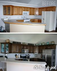 Refinish Wood Cabinets The How To Gal How To Refinish Kitchen Cabinets