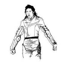 Small Picture Michael Jackson Thriller Coloring Pages Coloring Me