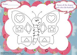 Butterfly Song (+ Coloring Pages and Worksheets)