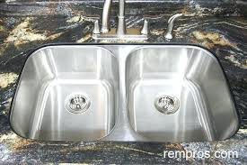 undermount kitchen sinks stainless steel. Kohler Stainless Steel Kitchen Sinks Undermount Sink Strainer Bunnings . C