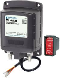 ml acr automatic charging relay 12v dc 500a blue sea systems product image