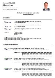 Formatos Curriculum Vitae Word Resume Templates