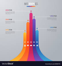 Bar Chart Infographic Template For Data