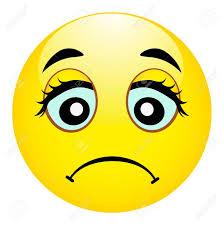 Sad Emoji Wrong Emotion Hurt Emoticon Vector Illustration
