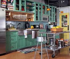 green painted kitchen cabinets. Painted Kitchen Cabinet Ideas Green Cabinets With Yellow Walls L