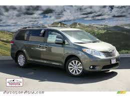 2011 Toyota Sienna XLE AWD in Cypress Green Pearl - 022561 | Autos ...