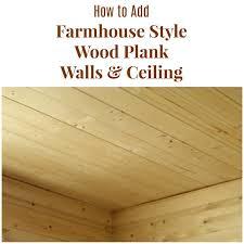how to install farmhouse bathroom wood
