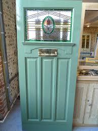 1930 s art deco stained gl front door