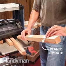 Create as many free planner printables as you want to include in your diy planner. How To Use A Benchtop Wood Planer Diy Family Handyman