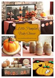8 Adorable Fall Baby Shower Ideas U2013 The Invite LadyBaby Shower Fall Ideas