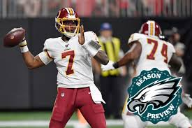 Nfc East Until Dwayne Haskins Is Ready Its Case Keenum At