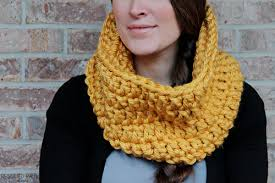 Crochet Scarf Patterns Bulky Yarn Magnificent Crochet Chunky Infinity Scarf Rescued Paw Designs Crochet