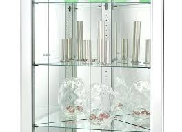curio cabinets with glass doors wood and glass cabinet 2 glass door wall cabinet larger photo